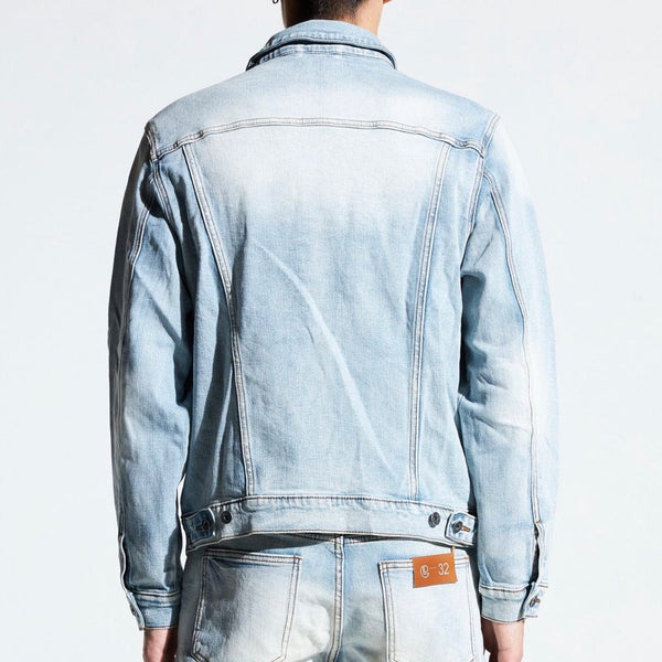 Crysp Bering Denim Jacket (Light Wash) CRYSPFA120-202