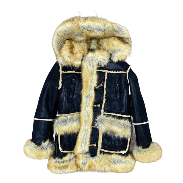 Juniors Jordan Craig Aspen Shearling Jacket (Black Copper)