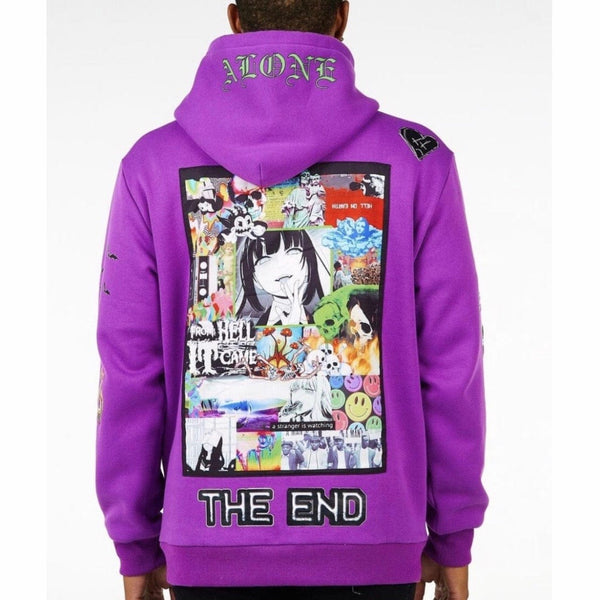 Sugar Hill Hellscape Hoodie (Purple) SH-FALL20-14
