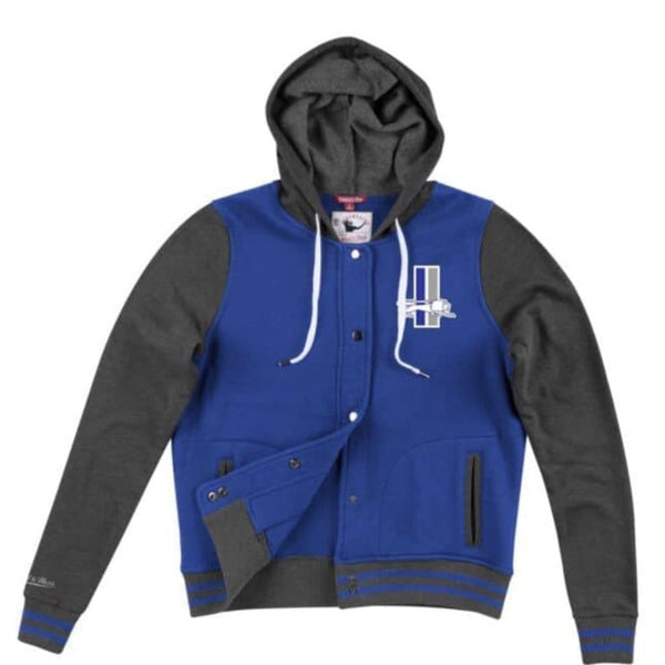 MITCHELL&NESS VARSITY HOOD FLEECE JACKET LIONS