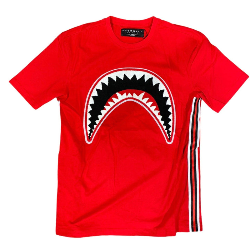 Eternity Bc/Ad Shark Mouth T Shirt (Red) E4133198-RED