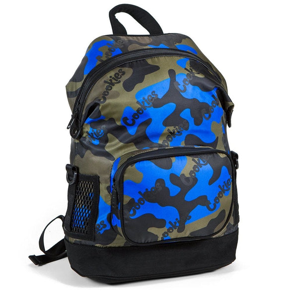 Cookies Backpack Luxe Satin Blue Camo