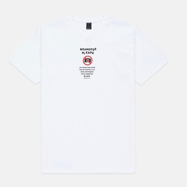 10 Deep No Photos SS T Shirt (White)