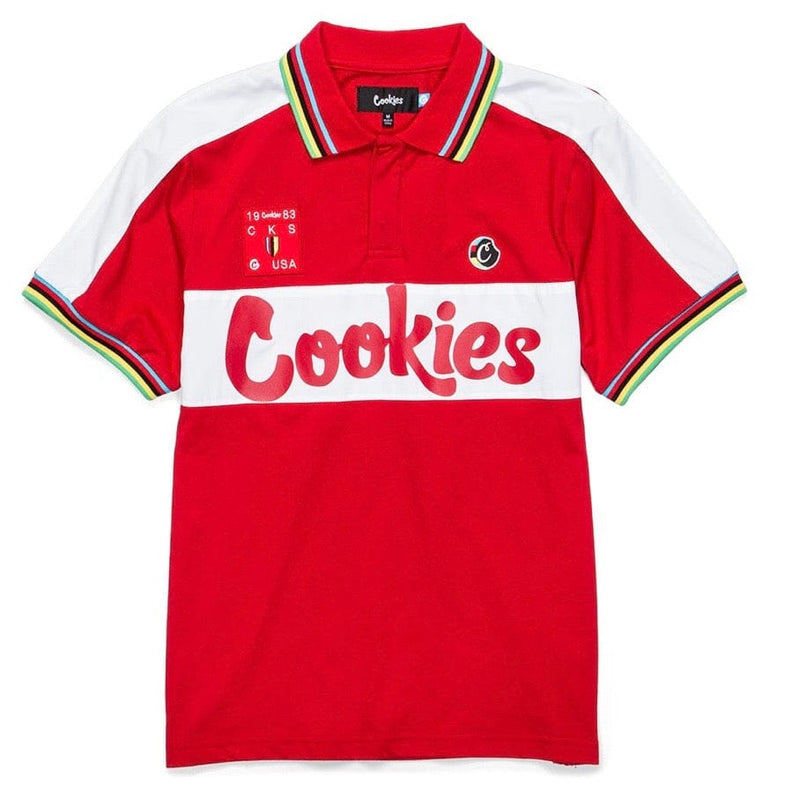 Cookies Tour De Fire Jersey Polo (Red) 1543K3974