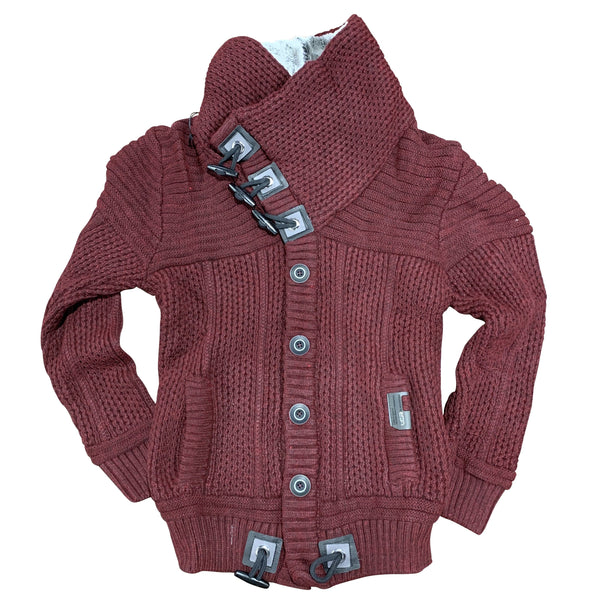 LCR SWEATER 7100 BURGUNDY