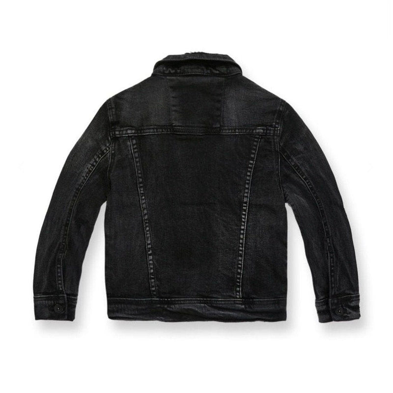 KIDS JORDAN CRAIG DENIM JACKET  IN/BLACK