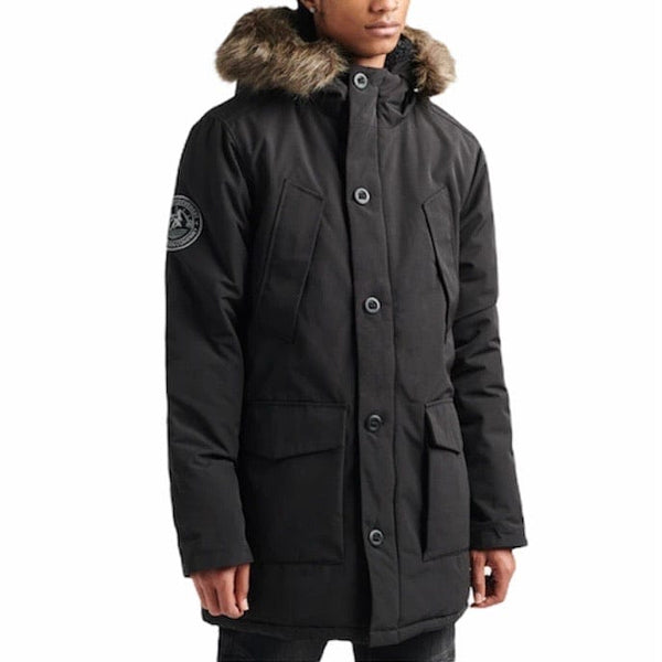 Superdry Everest Parka Jacket (Black)