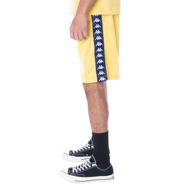 Kappa 222 Banda Treadwellz Short (Yellow/Blue)