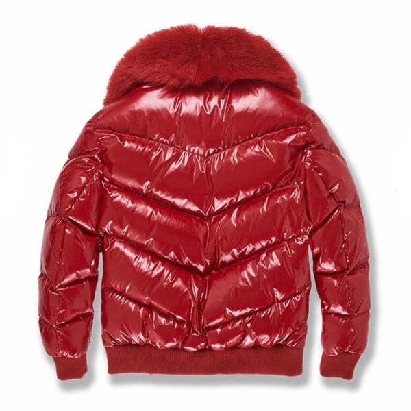 Junior Jordan Craig Lenox Nylon Puffer Jacket 2.0 (Red) 91502B