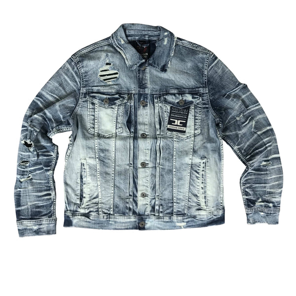 JORDAN CRAIG DENIM JACKET AGED WASH