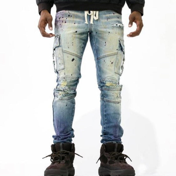 Thrt Rip and Repair Denim (Haze)