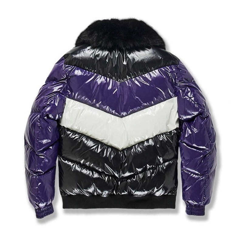 Jordan Craig Sugar Hill Nylon Puffer Jacket (Court Purple) 91505A