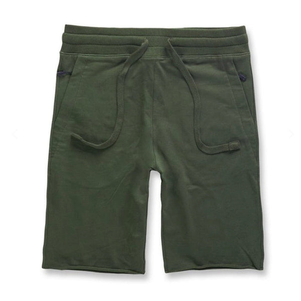 Jordan Craig Palma French Terry Shorts 2.0 (Army Green)