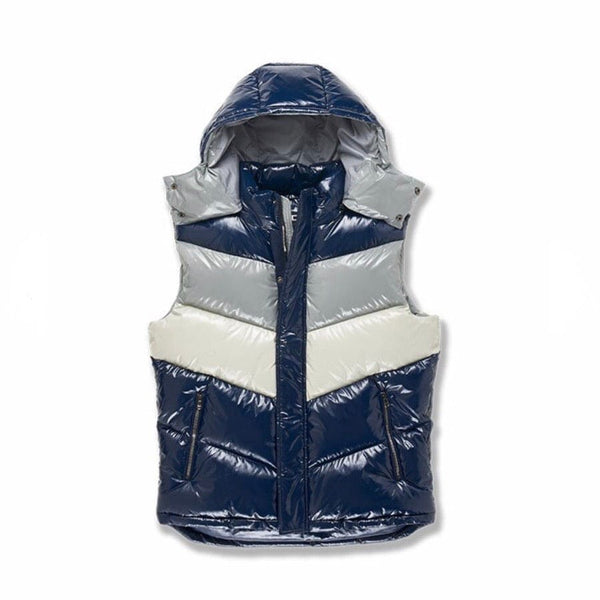 Jordan Craig Tri Color Bubble Vest (London Blue) 91505V