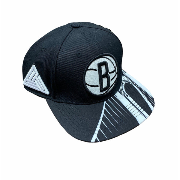 Pro Standard Brooklyn Nets Snapback (Black/White) BBN750711