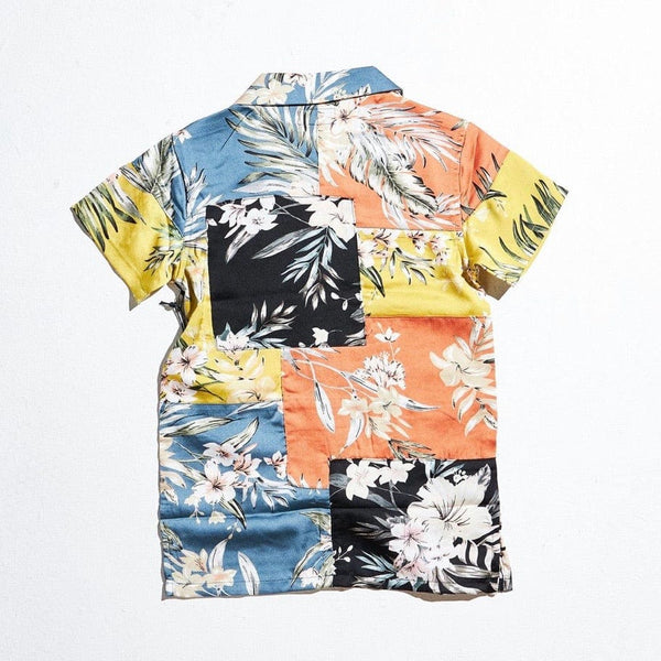 Haus of Jr Breeze Button Up (Flowers)