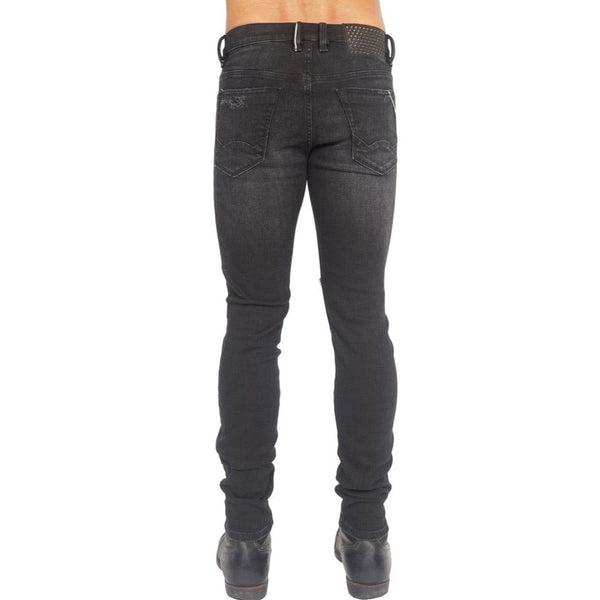 Cult Of Individuality Punk Super Skinny Jean (Black)
