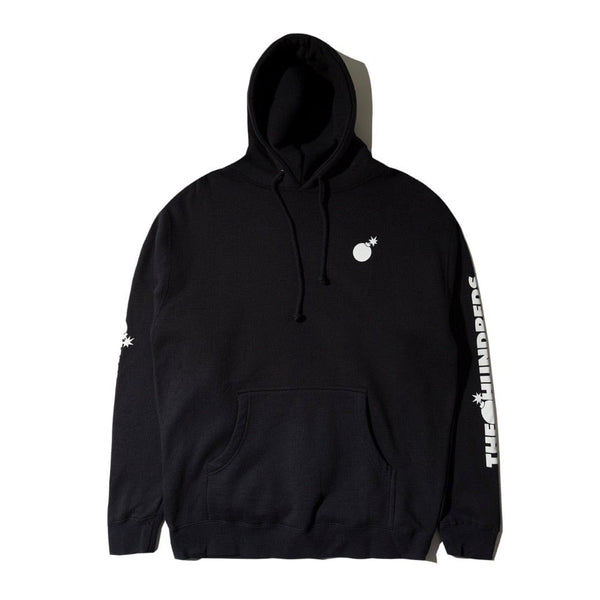 The Hundreds Solid Bomb Crest Pullover (Black)