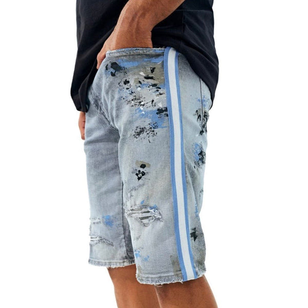 Jordan Craig  Talladega Denim Shorts (Blue Tech)