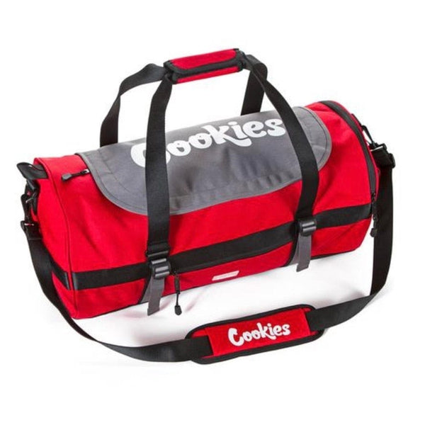 Cookies Parks Utility Duffel Bag (Red)