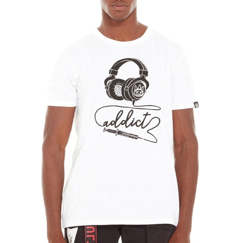 Cult Of Individuality Addict T Shirt White