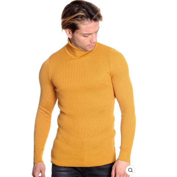 LCR Black Edition Turtleneck Sweater (Mustard) 1670C