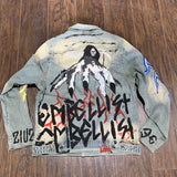 EMBELLISH JEAN JACKET DISTORDA LIGHT VINTAGE