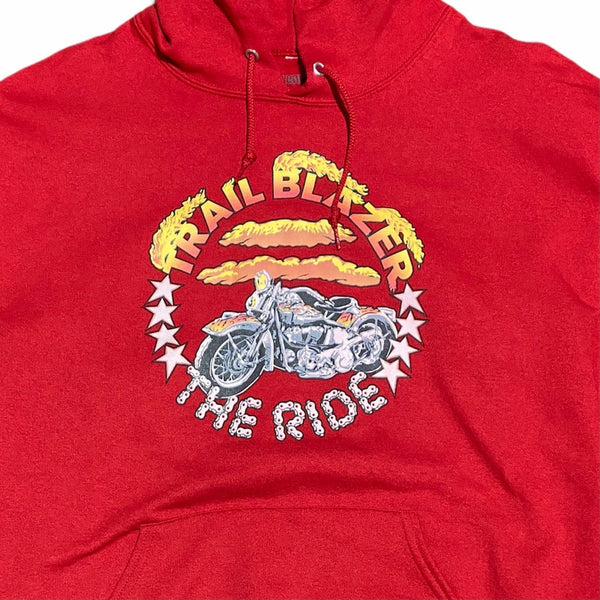 Bleach Goods Trail Blazer Hoodie (Red)