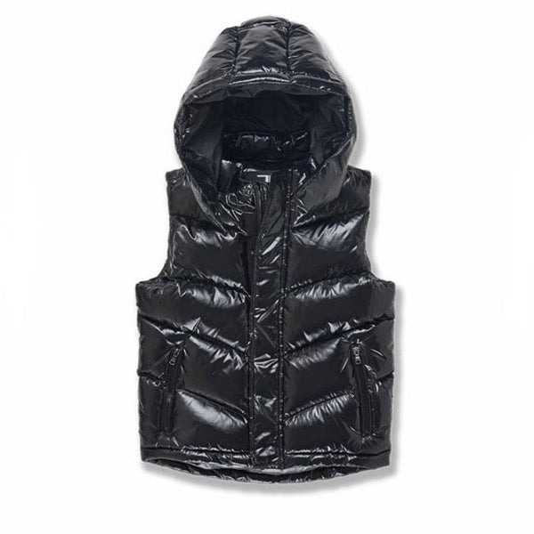 Junior Jordan Craig Sugar Hill Puffer Vest (Black) 91505VB