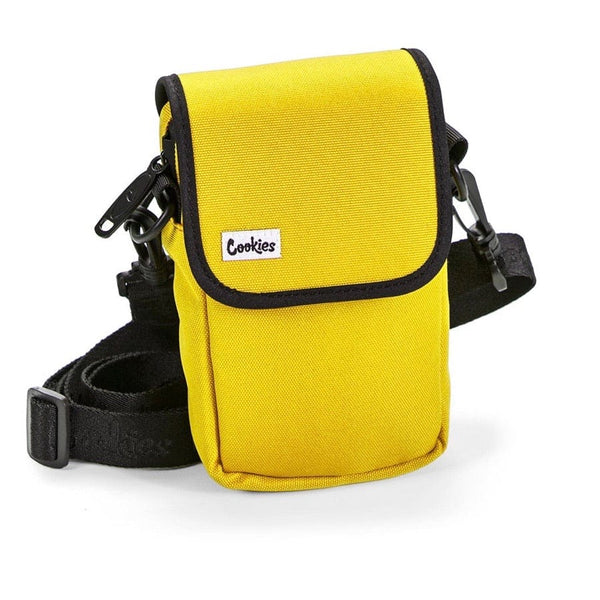Cookies Utility Pocket Canvas Bag (Yellow)