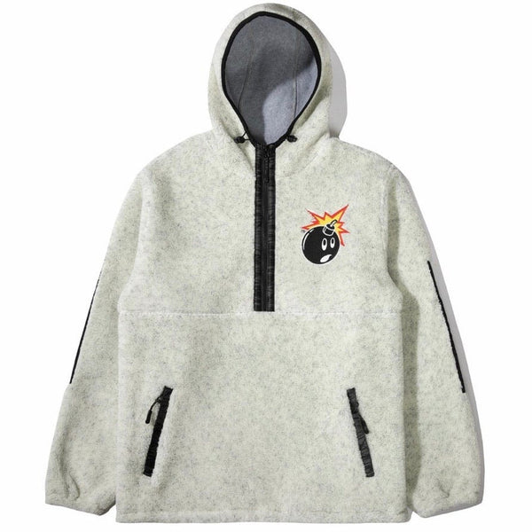The Hundreds Glen Pullover Hoodie (Off White) T20W103009