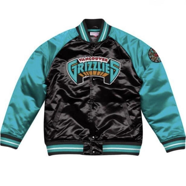 MITCHELL&NESS TOUGH SEASON SATIN JACKET GRIZZLIES