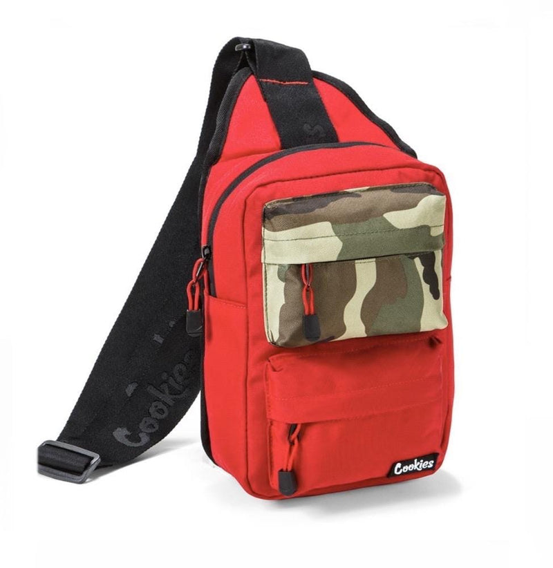 Cookies Smell-Proof Sling Bag Red