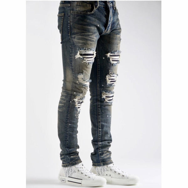Valabasas Jeans V49 (Dirty Blue Wash) VLBS1149
