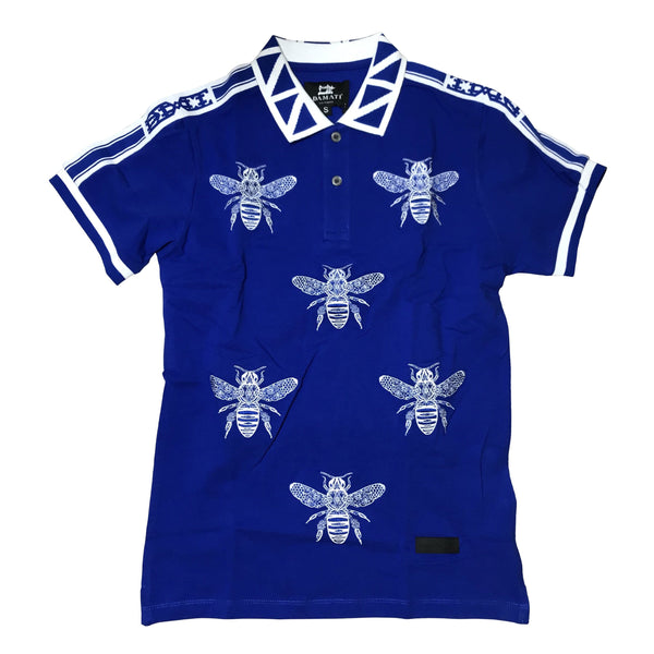 DAMATI POLO SHIRT BLUE