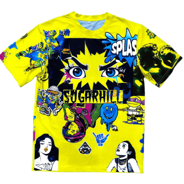 Sugar Hill Psycho Tee (Yellow)