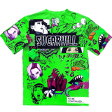 Sugar Hill Psycho Tee (Lime Green)
