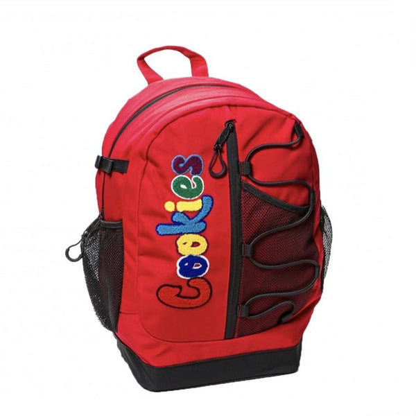 Cookies Smell Proof  Bungee Nylon Back Pack Red