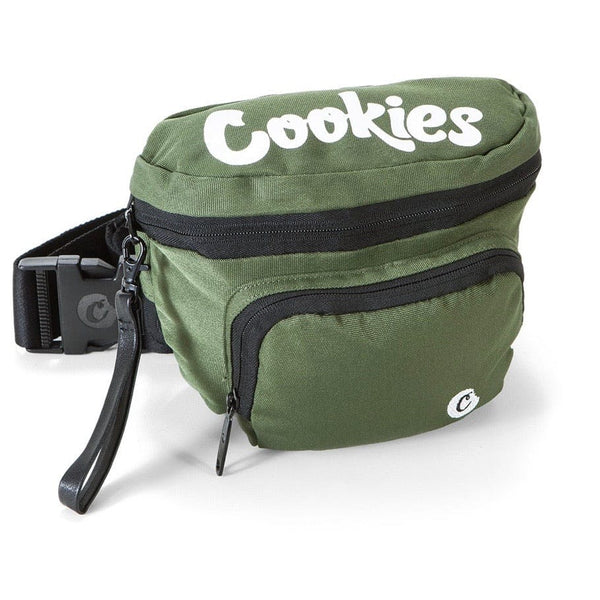 Cookies Smell Proof Fanny Pack Olive