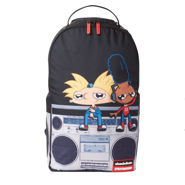 Sprayground Hey Arnold Anime on Stereo Backpack