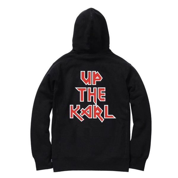 Bleach Goods Up The Karl Hoodie (Black)