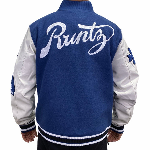 Runtz All County Varsity Jacket (Deep Royal) 37345