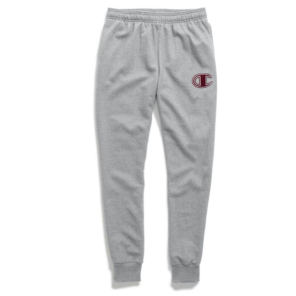 Champion Powerblend Fleece Joggers Sweatpants (Gray)