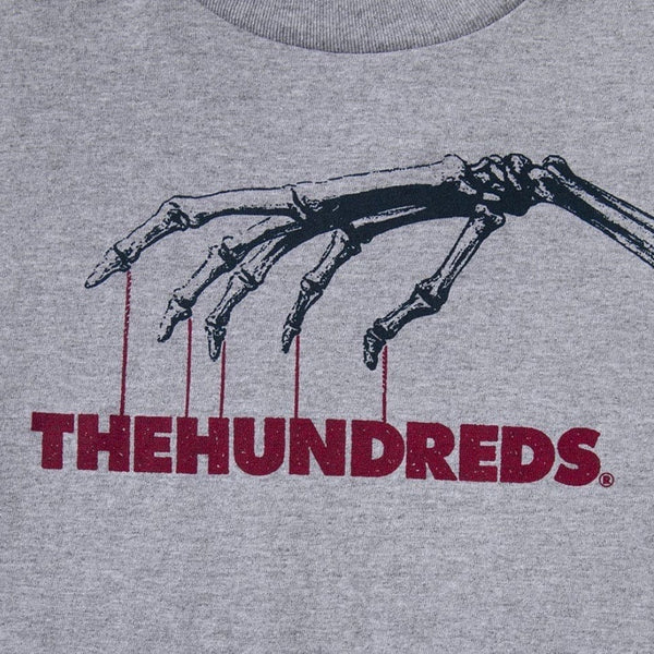 The Hundreds Control T Shirt Grey