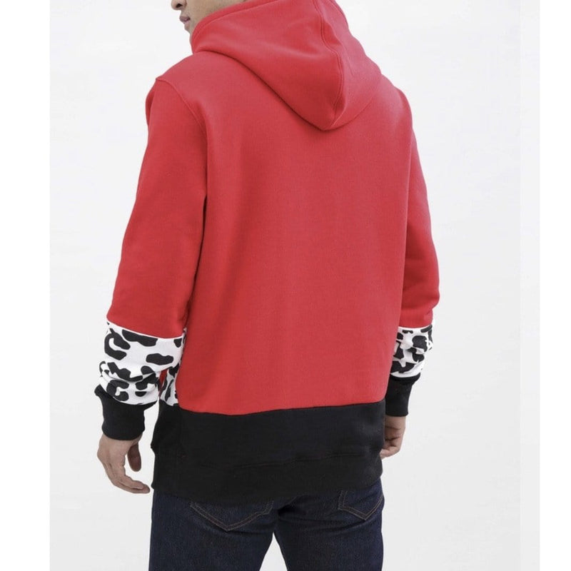 Hudson Outerwear Hoodie Shark Mouth Red