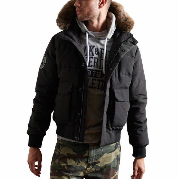 Superdry Everest Bomber Jacket (Black)