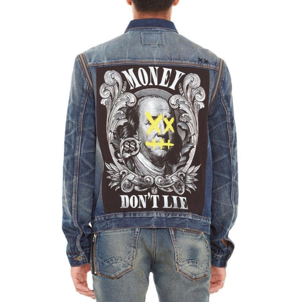 Cult of Individuality Paz Type II Money Denim Jacket