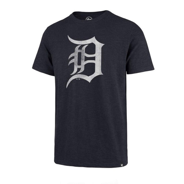47 Brand Detroit Tigers T Shirt Scrum Navy
