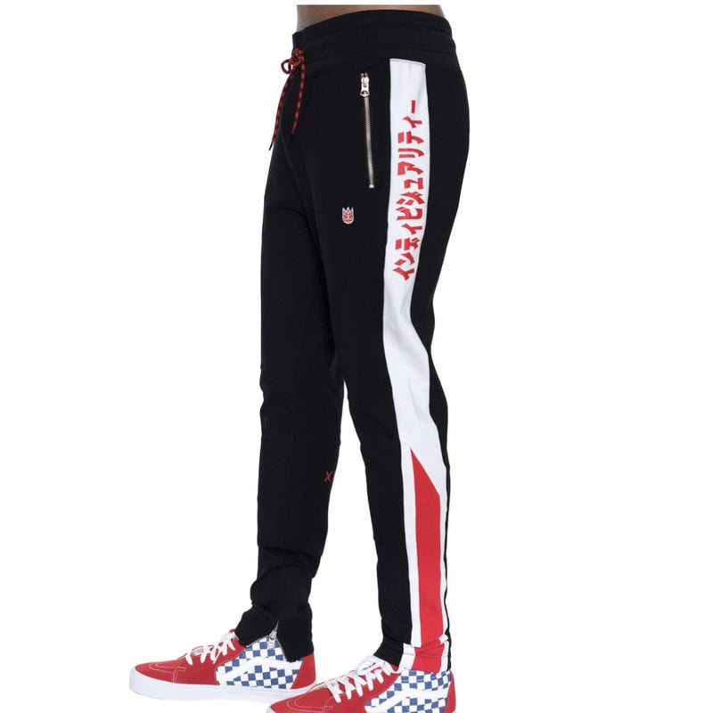 CULT OF INDIVIDUALITY TRACK PANT RED 69A2-SP98A