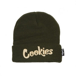 Cookies Knit Beanie Original Mint Olive